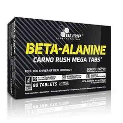 Beta alanine carno rush mt - 80tabs