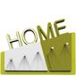 Wieszak na klucze Home CalleaDesign zielony  biały 18-001-54
