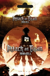 Atak Tytanów - Sztuka - naklejka