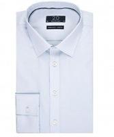 Jasnoniebieska koszula męska taliowana, super slim fit stretch 46