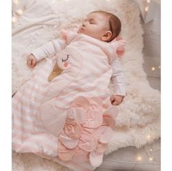 Bizzi growin śpiworek dla noworodka do spania flaming 2.5 tog rozmiar 0+