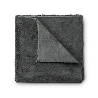 Fx protect edgeless microfiber towel – mikrofibra bez obszycia, szara, 420gsm, 40x40cm