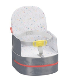 Krzesełko podróżne 2w1, szare, badabulle