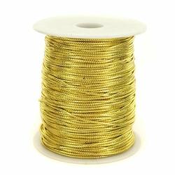 Sznurek ozdobny 1,5 mm100 m - złoty