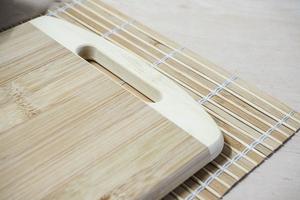 Deska kuchenna bambusowa 31.5 x 21 cm