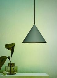 Loftlight :: lampa wisząca konko light zielona szer. 45 cm