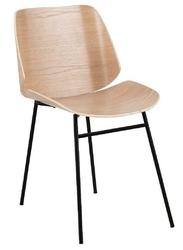 Krzesło aks 190 dąbczarny