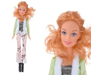 Duża lalka dla dziewczynki 60 cm z ubrankami, akcesoriami