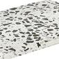 Deska kamienna omeo 15 x 20 cm czarno-biała