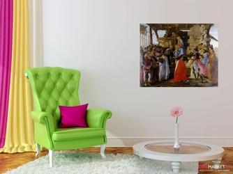 pokłon trzech króli - sandro botticelli ; obraz - reprodukcja