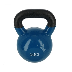 Hantla winylowa żeliwna kettlebell knl 24 kg - hms - 24 kg