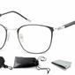 Oprawki optyczne korekcyjne montana 934 czarno-srebrne