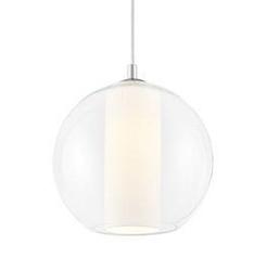 Kaspa :: lampa wisząca merida l biała