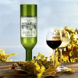 Gigantyczny kieliszek do wina