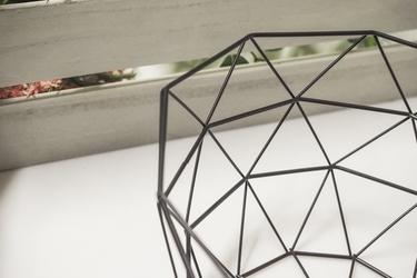 Koszyk metalowy 25.5 cm