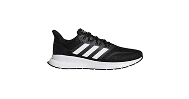 Buty adidas runflacon f36199 core black 41 13 czarny