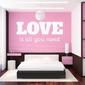 Love is all you need 1723 szablon malarski