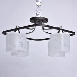 Nowoczesna czarna lampa sufitowa  o kwadratowej formie demarkt 673010604