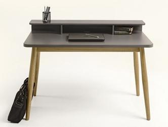 Nowoczesne biurko farsta w skandynawskim stylu 120 cm