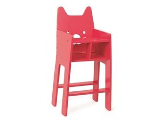 BABYCAT drewniane krzesełko dla lalek