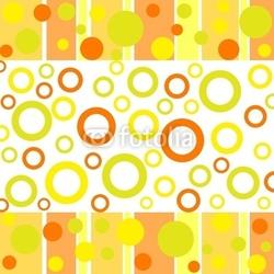 Plakat na papierze fotorealistycznym funky jesienne wzory