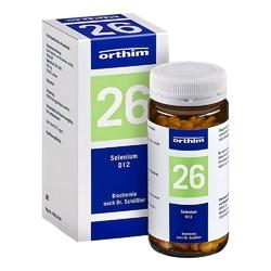 Biochemie orthim 26 selenium d 12 tabl.