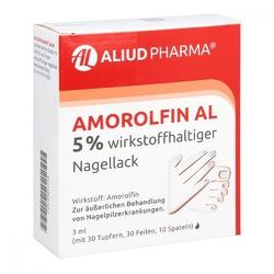 Amorolfin al 5 lakier do paznokci