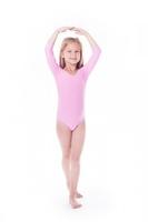 Body gimnastyczne lycra b9 rękaw 34 shepa