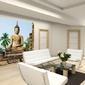 Sukhothai, wat sra si temple - fototapeta