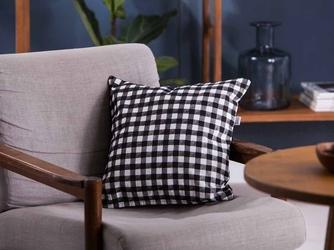 Poszewka na poduszkę altom design miłość w kratkę 40 x 40 cm dek. ii mała kratka