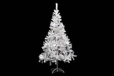 Biała choinka sztuczna 180 cm - stojak - na święta