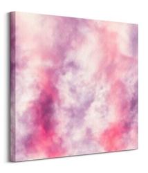 Blur cloudy milky way - obraz na płótnie