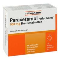 Paracetamol ratiopharm 500 mg brausetabl.