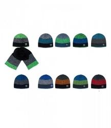 Ajs 36-476 czapka + szalik