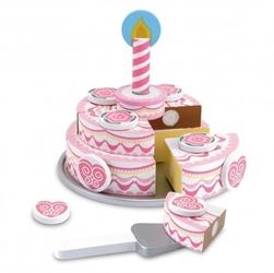 Tort warstwowy - zabawa w urodziny