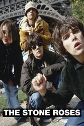 The stone roses band - plakat