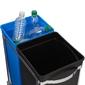 Kosz na śmieci pull out recycler 35 litrów simplehuman cw1016