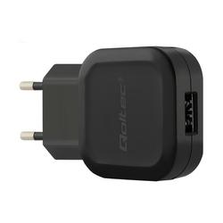 Qoltec Ładowarka sieciowa 12W | 5V | 2.4A | USB + kabel USB typC