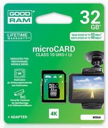 Karta pamięci micro sdxc 32gb goodram klasa 10 uhs-i u3 m3aa-0320r11 95 mbs  90 mbs