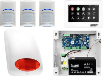 Alarm system ropam neogsm-ip 3x bosch tpr-4ws sygnalizator powiadomienie gsm