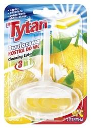 Tytan, dwufazowa zawieszka do toalety, zapach cytrynowy
