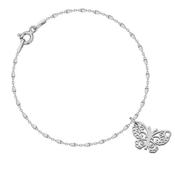 Bransoletka z motylkiem 1633