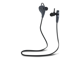 Słuchawki bluetooth forever bsh-100 czarne - czarny