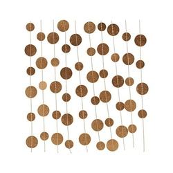 Girlanda papierowa gold dots house doctor