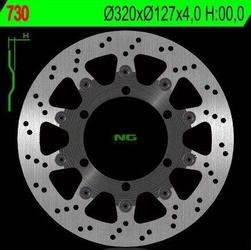 Ng730 tarcza hamulcowa ktm 625640690 320x127x4 6x6,5mm