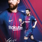 Barcelona Leo Messi 1718 - plakat