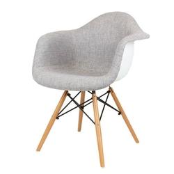 Nowoczesny fotel kr012f tszsz buk