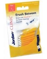 Jordan clinic brush between szczoteczki l 0,7mm x 10 sztuk