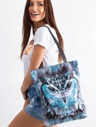 Torebka damska shopper bag lorenti sunny brygida 045 - szary
