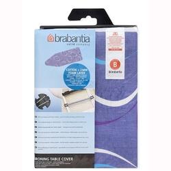 Brabantia - pokrowiec na deskę do prasowania 124 x 45cm - pianka 4mm + filc 4mm - moving circles